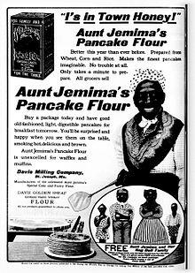 Aunt Jemima in 1909