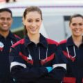 emergency medical technicians in uniform