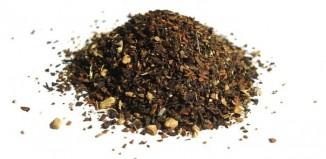 contents of a bag of chai tea