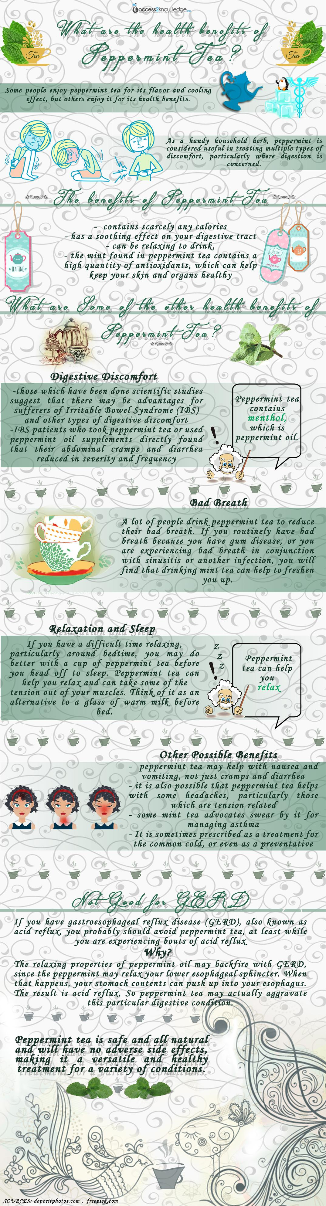What Are The Health Benefits Of Peppermint Tea