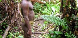 korowai tribesman