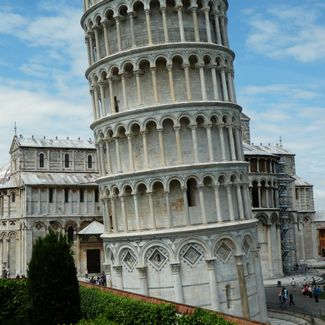 why does the leaning tower of pisa lean