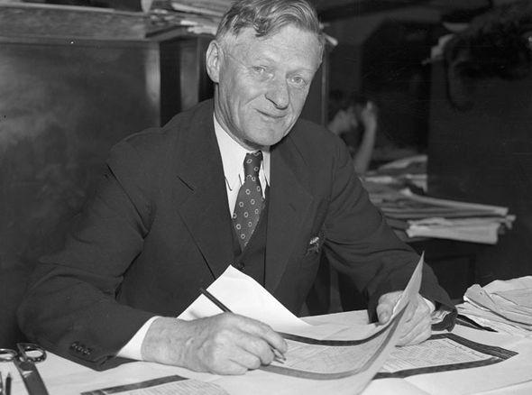 Arthur Wynne, the crossword inventor