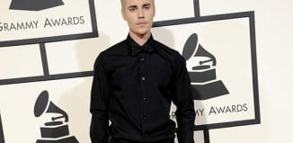 justin bieber at the grammy awards