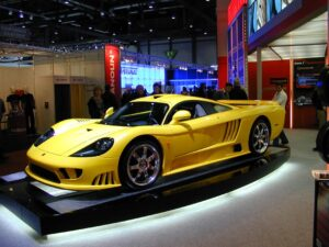 Saleen S7 Twin Turbo fast car