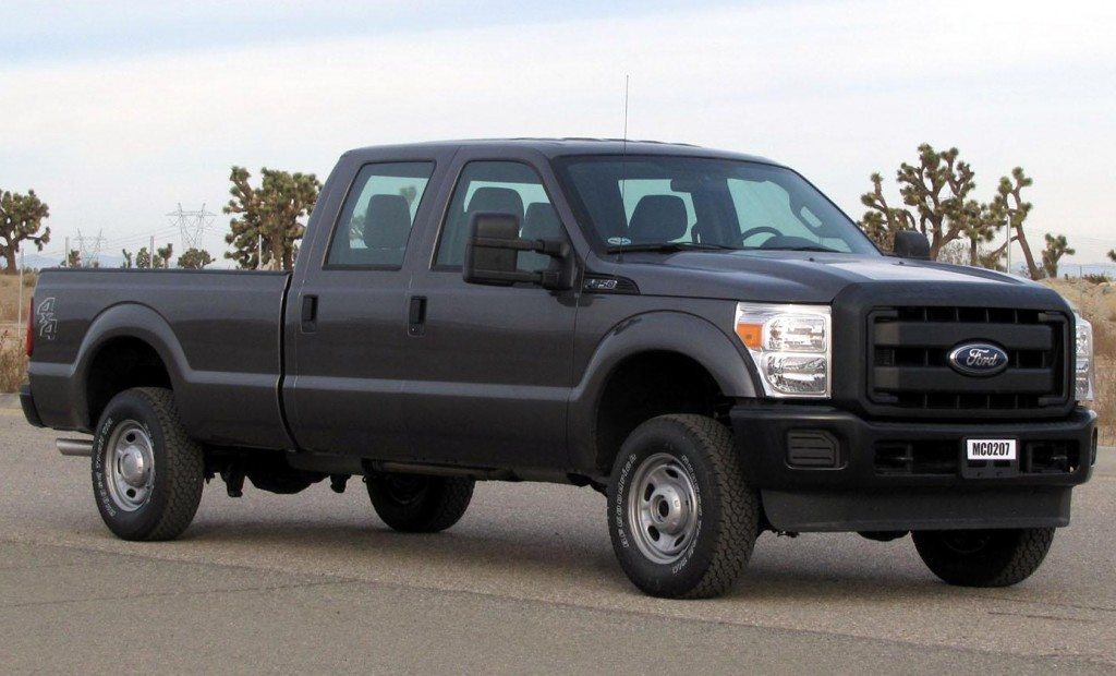 Ford F-250/ F-350 in the biggest car in the world top