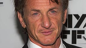 Sean Penn recent photograph