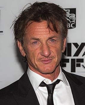 Sean Penn recent photograph