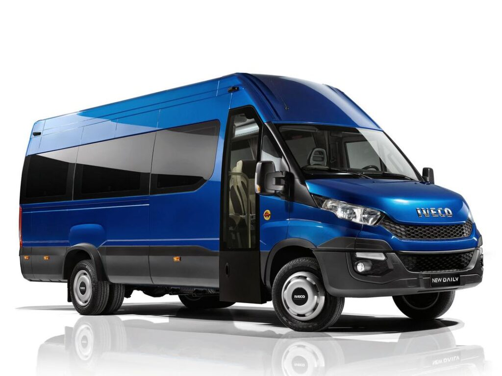The New Iveco Daily in the biggest car in the world top
