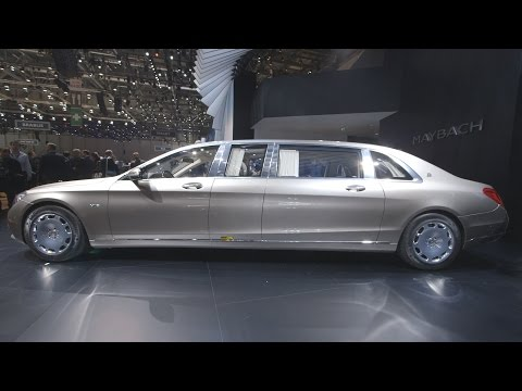 2016 mercedes maybach pullman in the biggest car in the world top