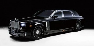Rolls-Royce Phantom EWB (Extended wheelbase) in the biggest car in the world top