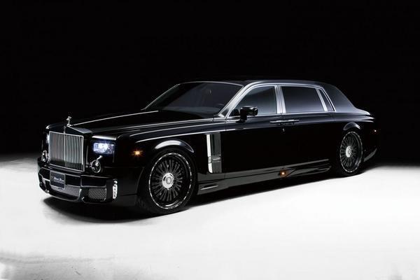 Rolls-Royce Phantom EWB (Extended wheelbase) in the biggest car in the world top