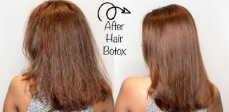 hair botox results
