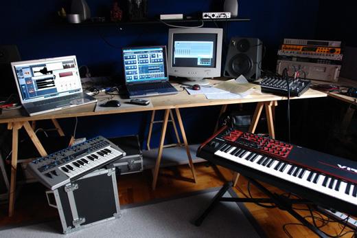 home electronic music studio