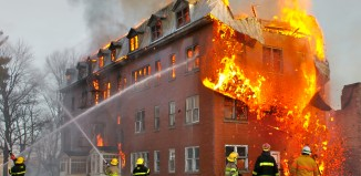 firefighters at work - how to become a firefighter