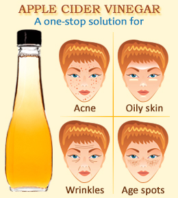 apple cider vinegar uses for skin