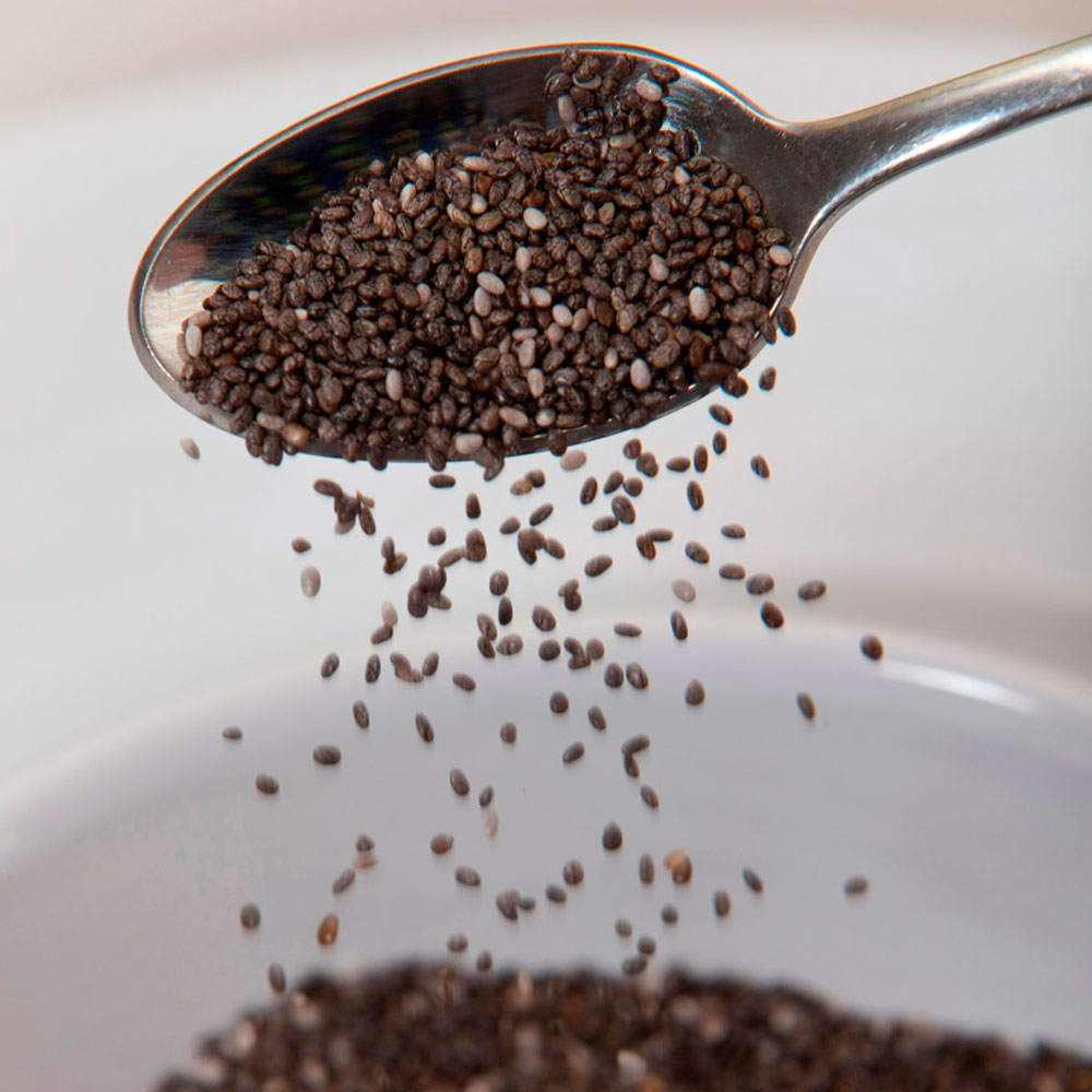 What are the top health benefits of chia seeds?