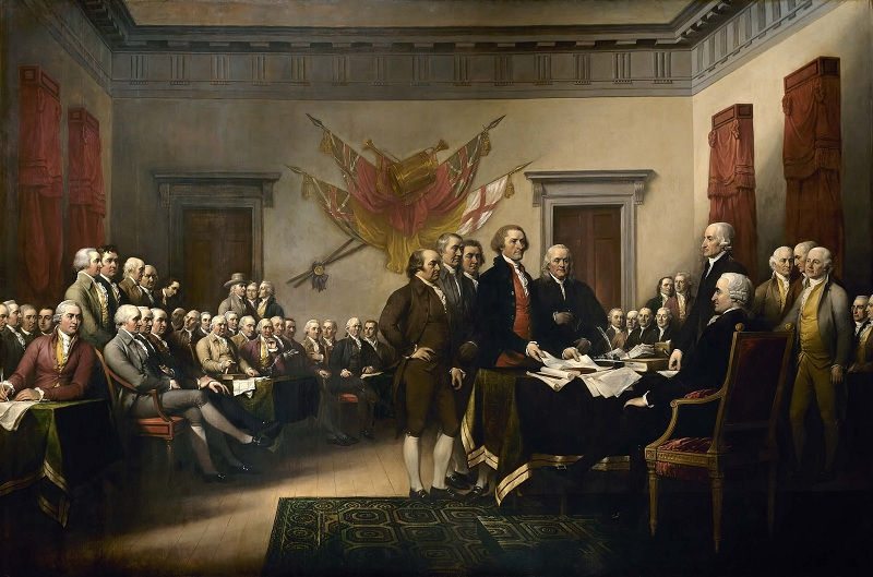 what did thomas jefferson do signing the declaration of independence