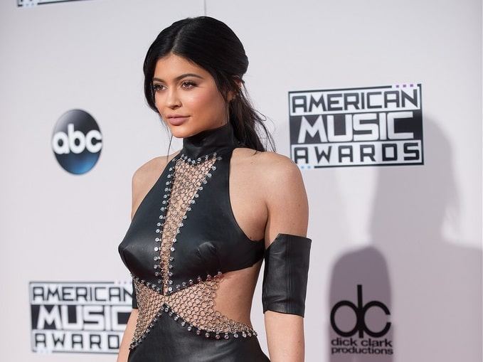 Kylie Jenner at the 2015 American Music Awards