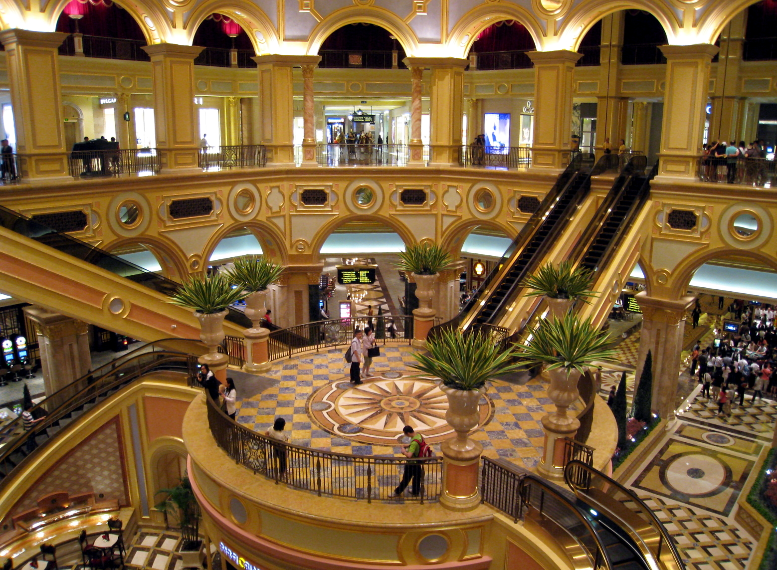 The Great Hall of The Venetian Macao as a Five-Star Class Hotel to better understand Your Options on Hotel vs. Motel