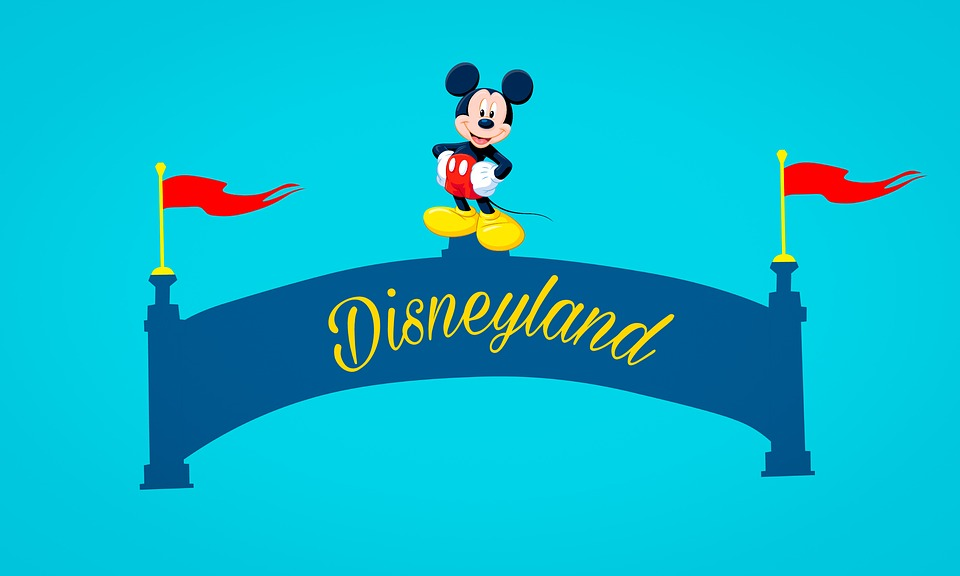 Disneyland mickey mouse logo